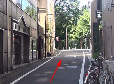新宿校までの道のり3 あとはまっすぐ!